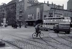 Berlin - das Kino Alhambra in der Seestrasse Ecke Muellerstrasse 1958