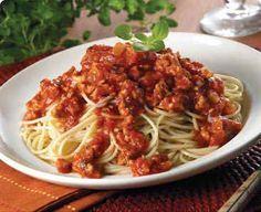 Superbe recette de Ma sauce spaghetti à la viande