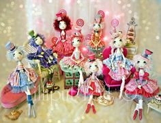 PRINT of Urchin Art Doll Sweet Treat Collection