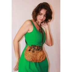 #greendress #leopard #brass #art #brazilianstones All of this together? #carvalhusrio