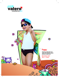 POPPY French cut Inner Elastic Brief for kids, Single jersey fabric,attractive cartoon designs printed.
