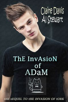 4.75/5 for The Invasion of Adam by Claire Davis + Al Stewart ~ Book Review by Karen