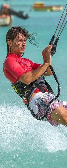 Aruba Kite Surfing and Kiteboarding Photography by Tony Filson of Filcro Media | Adoscool.com