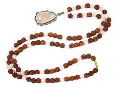 Rudraksha Rose Quartz Beads Prayer Mala Spiritual Yoga Healing Om Japamala- Promoting Acceptance Mogul Interior http://www.amazon.com/dp/B00R5LF5D4/ref=cm_sw_r_pi_dp_ct4Kub16QD2ZS