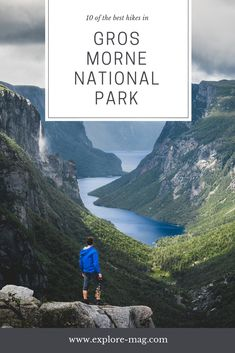 10 of the Best Hiking Trails in Gros Morne National Park Majestic hiking trails in Gros Morne National Park Source by exploremag Parc National, National Parks, National Forest, East Coast Canada, Gros Morne, East Coast Road Trip, Newfoundland And Labrador, Newfoundland Canada, Colorado Hiking