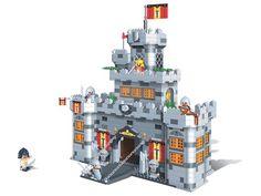 Construire un château avec les briques Banbao Lego Castle, Games For Kids, Victorian, Layout, Toys, Building, Modern, Design, Sword