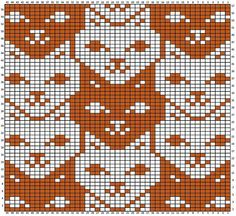 knitting charts tessellations charts for - knitting Knitting Charts, Knitting Stitches, Knitting Patterns, Knitting Designs, Crochet Patterns, Loom Patterns, Mittens Pattern, Cat Pattern, Free Pattern