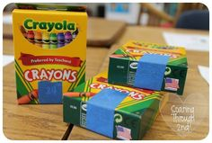 Such great tips and tricks for everything - crayon boxes, lines, table trash, and SO much more. So clever!