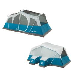 Coleman Echo Lake™ Fast Pitch™ Cabin w/Cabinets - 8 Person
