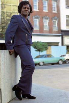 In 1993 the City of Augusta paid tribute to its native son, Godfather of Soul, James Brown by renaming Street in Downtown Augusta after him. James Brown, Music Icon, Soul Music, The Blues Brothers, Vintage Black Glamour, Old School Music, Soul Singers, My Black Is Beautiful, The Godfather