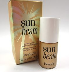 Benefit Sun Beam Golden Bronze Complexion Highlighter. - Home - Beautiful Makeup Search: Beauty Blog, Makeup Reviews, Beauty Tips