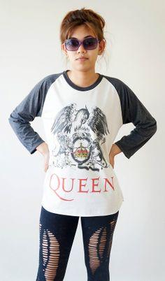 Queen Freddie Mercury T Shirts Queen Shirts Rock T Shirts - Tees | RebelsMarket