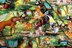 Tricot kinderstoffen met digitale print Bambi van het merk Disney. Stoffen Online: Voordelig ✓ Goede kwaliteit ✓ Grote keuze.
