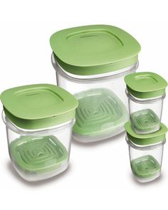Recycle or donate your mismatched storage containers and opt for a set that is BPA free and nests together - no more messy tupperware cabinets! Kitchen Necessities, Kitchen Essentials, Food Storage Containers, Produce Storage, Storage Sets, Recipe Organization, Kitchen Gadgets, Kitchen Tips, Kitchen Storage