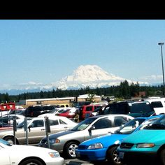 Mt. Rainier from Ft. Lewis, Wa