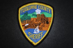 Tuolumne County Sheriff Patch, California (Current 1991 Issue)
