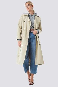 aaa425edfc Vetements Femme pas cher · BEIGE Na Kd Trend Pocket Detail Trenchcoat Trench  Femme, Blouson Femme, Ceinture, Bouton