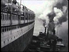 RMS Aquitania, footage arrival 1920.