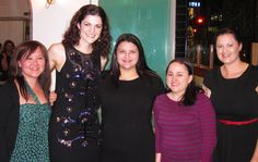 The Gourmet Belle Wine Circle Launch - Rebecca with gourmet friends