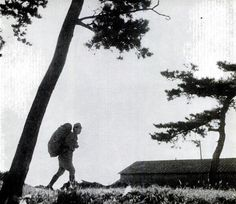 A Japanese soldier returning to his family and farm after the war.