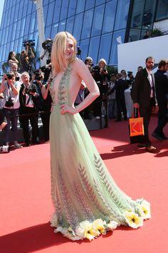 Bijoux Cannes Elle Fanning 2017