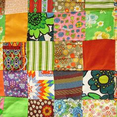 love the 70s fabric