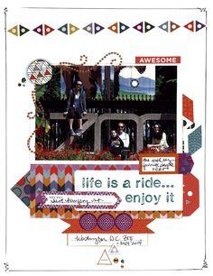 life is  a ride - Scrapbook.com