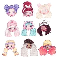 So i've rlly enjoyed drawing this series of flavor girls, which one is your fav? Btw i have no idea what to draw now😂 i think i lost all my inspiration 🤦🏻‍♀️😂 Character Design Cartoon, Character Drawing, Character Design Inspiration, Beautiful Drawings, Cute Drawings, Disney, People Art, Kind Mode, Cute Art