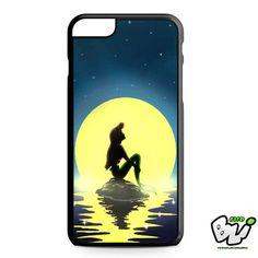 Ariel Mermaid On The Night iPhone 6 Plus Case | iPhone 6S Plus Case