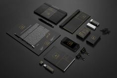 Au Brand Identity by Ayoob Ullah, via Behance