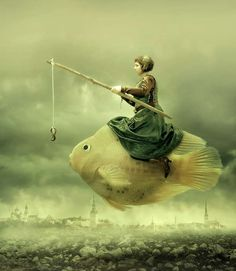 Surreal Aquatic Photography - Irene Z Imagines a Post-Apocalyptic Water World (GALLERY)