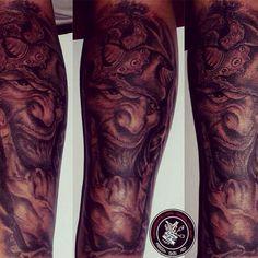 My Work #blackandgreytattoo #tattoos