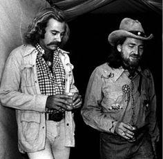 Jimmy Buffett and Willie Nelson
