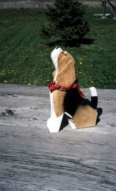 Beagles in Wood Folk Art Handpainted and Made in America--They make other breeds too