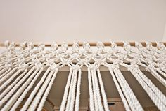 Make Your Own Macrame Curtain – A Beautiful Mess