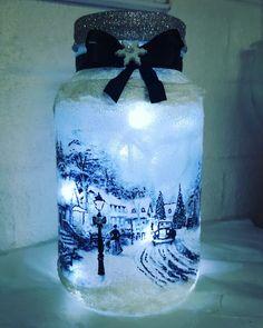 Christmas Scene Lamp