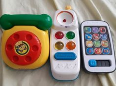 Evolution of the toy phone, our basic understanding of what a phone is