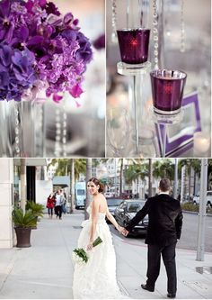 Beverly Hills Wedding by Jen Lauren Grant Photography | Style Me Pretty