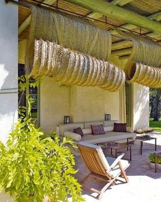 Pergola With Glass Roof Outdoor Blinds, Outdoor Rooms, Outdoor Gardens, Outdoor Living, Outdoor Decor, Outdoor Retreat, Porch And Terrace, Patio Interior, Interior Design
