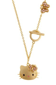 Hello Kitty Toggle Necklace  Women #Jewelry