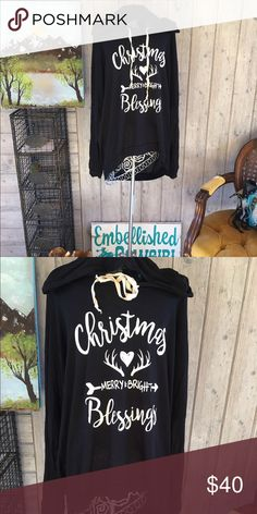 Christmas 🎄Hooded sweatshirt top style plus size 🎄🎄🎄🏡🏡🏡hooded sweatshirt top light weight hoodie.  With Christmas 🎄 sayings woman plus size. Fits true and made in USA. 🇺🇸🇺🇸🇺🇸🇺🇸🇺🇸🇺🇸🇺🇸🇺🇸🇺🇸🇺🇸🇺🇸🇺🇸🇺🇸🇺🇸🇺🇸 Tops Tees - Long Sleeve
