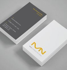 MN Arquitetura | Identidade Visual - FAAZ Comunicação Agência de Publicidade Business Card Design Software, Business Card Maker, Business Cards, Corporate Identity Design, Branding Design, Logo Design, Initials Logo, Calling Cards, Business Inspiration