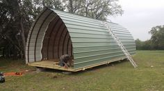 Bunkhouse Plans 506443920596358067 - Gallery – Welcome to Arched Cabins! Source by moniqueharrand Tiny House Cabin, Cottage House Plans, Small House Plans, Cabin Homes, Quonset Hut Homes, Prefab Cabins, Container House Design, Tiny House Design, Arched Cabin