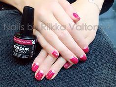 Classic manicure, gel polish on natural nails #nails #nailart #stockholm #handpaintednailart