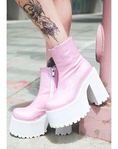 Current Mood Dancing Queen Boogie Boots | Dolls Kill