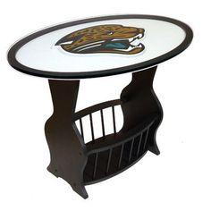 Fan Creations NFL Logo End Table NFL Team: Jacksonville Jaguars