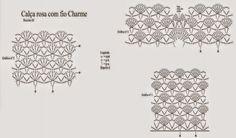 CALÇA SAÍDA DE PRAIA     Material: Charme – 3 nov. rosa (3128)