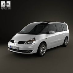 Renault Grand Espace 2011 3d model from humster3d.com. Price: $75