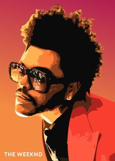 The Weeknd Drawing, Weekend Artist, The Weeknd Poster, Digital Art Beginner, Rapper Art, Arte Pop, Portrait Art, Artist Art, Watercolor Illustration