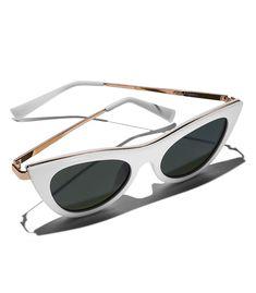 ff1129edb0a Le Specs Enchantress Cat Eye Sunglasses - ShopBAZAAR